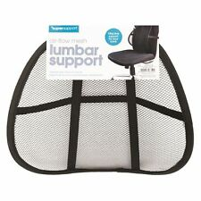 New Mesh Back Support Lumbar Lower Back Cushion Pain Relief Car Seat  and Office