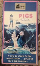 Pigs VHS aka Daddy's Deadly Darling 1972 Horror Cult Katherine Ross HCC