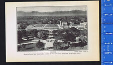 Civic Center & Rockies, DENVER - 1925 Page of History