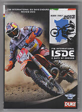 FIM 6 DAY ISDE ENDURO 2013 DVD NEW