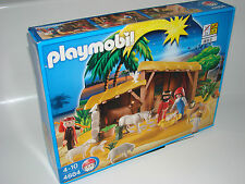 PLAYMOBIL ® 4884 mangiatoia con stalla NUOVO OVP Nativity Manger stable NEW MISB NRFB
