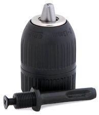 Kit mandrin 2 à 13 mm Auto-serrant  SDS Plus +  pour Perforateur Perceuse Foret