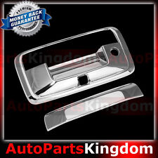 15-16 Chevy Silverado 2500+3500 Chrome Tailgate Handle w/Key+Camera hole Cover