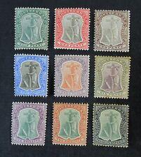 CKStamps: GB Montserrat Stamps Collection Scott#12-20 Mint H OG 2 Signed