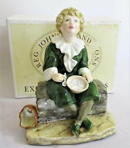 Fabulous Quality Reg Johnson & Sons 'Bubbles' Figurine