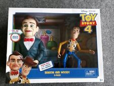 Toy Story 4 Benson and Woody Cowboy 2 Pack Exclusive Movie Edition Woody RARE