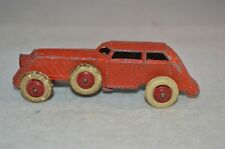 Tootsie Toy? full metal toy car vintage old metal car with white tyres