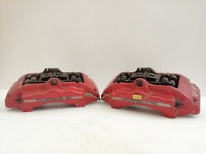 PORSCHE CAYENNE BREMBO FRONT BRAKE CALIPERS SET 207669802 / 207669902 / S248