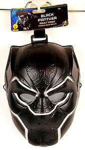Marvel Avengers Endgame Black Panther Adult Half Mask Rubie's