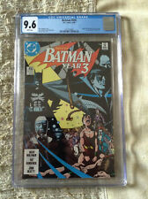 Batman #436 1st Appearance Tim Drake CGC 9.6 White Pages - **KEY**