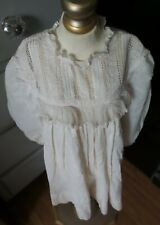 Gorgeous! Antique Infant Tatted Lace Dress for Composition & Bisque Baby Dolls