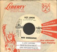 Bagdasarian, Ross - Lazy Lovers Vinyl 45 rpm record Free Shipping