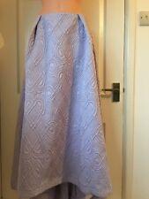 ASOS Ultimate Prom Casual Skirt in Jacquard Lilac UK 6 EU 34 US 2 (C102)