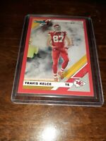 TRAVIS KELCE 2019 Donruss RED PRESS PROOF Variation #2v  Kansas City Chiefs MINT