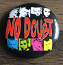 NO DOUBT BUTTON BADGE American Rock Band - Don't Speak,  Gwen Stefani 25mm Pin