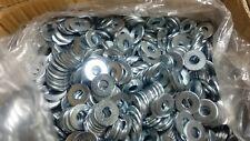 "1925 Uss Flat Washers 5/16"" Zinc Plated Steel 25 Lbs"