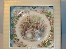 Royal Doulton Plate Brambly Hedge Collection Summer Mint in Box
