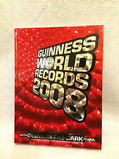 Guinness World Records 2008 Glow In The Dark Features Book Interesting Facts