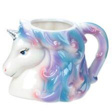 Magischer Regenbogen Einhorn Kopf Tasse Becher Kaffeebecher Kaffeetasse