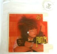 NEAR MINT! MOTLEY CRUE SMOKIN' IN THE BOYS ROOM SHAPED VINYL PICTURE DISC