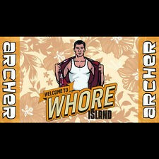 FACTORY Archer Whore Island Beach Towel FX NEW