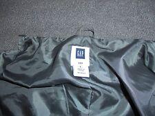 Men's Gap Wool Blend Winter Coat W/ Hoodie Size Large