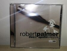 CD ROBERT PALMER - LIVE AT APOLLO NEW YORK - NUOVO NEW