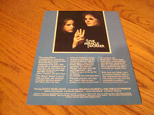 THE MIRACLE WORKER 1979 Emmy ad with Melissa Gilbert as Helen Keller, Patty Duke