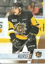 Isaac Nurse #150 - 2017-18 CHL - Base - Hamilton Bulldogs