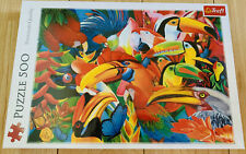 Colourful Birds 500 Piece Jigsaw Puzzle NEW Parrot Toucan Beautiful Vibrant Fun