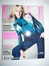 Magazine mode fashion ELLE french #3431 septembre 2011 Anne V