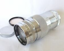 **Exc++++** Canon 135mm F/3.5 Leica Screw Mount M39 L39 w/Filter Rcap From Japan