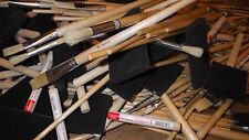 JOB LOT 100 ASSORTED HARRIS ARTIST PAINT BRUSHES ROUND FLAT FOAM SPONGE BRUSHES