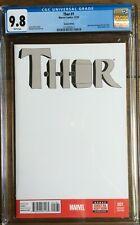 Thor #1 Sketch Edition CGC  9.8 2137052017