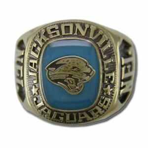 Jacksonville Jaguars Classic Goldplated NFL Ring