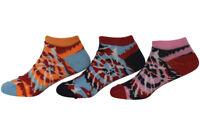 Jefferies Socks Little Girl's 6-Pairs Tie Dye Ankle Socks Sz: S; Fits Shoe 9-1
