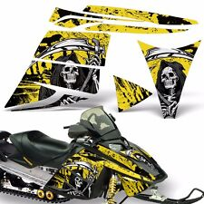 Decal Graphic Kit Ski Doo Rev Skidoo Sled Snowmobile Sticker Wrap 03-09 REAP YLW