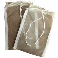 "2 x Filter Media Bags / Holders 9"" x 5"" for Aquarium Filter Media Carbon etc"