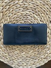MARC BY MARC JACOBS Black Leather Continental Bi-Fold Wallet
