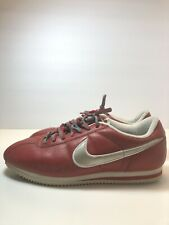 Vintage Nike Cortez Classic Leather Red With White Swoosh 602146-611 Size 11.5