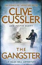 THE GANGSTER by Cilve Cussler & Justin Scott, NEW PAPERBACK, LARGE BOOK, 2016
