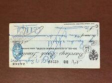 b1u ephemera cashed barclays bank 62249 sept 1947 aspell leicester