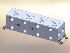 Hydraulic manifold A5P43P // AD05P043P // BM-ASP05P3-04-1/Z // BAO5GPS04NDUAAAA