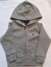 New Boys Ralph Lauren Cotton Fleece Hoodie 5 Years