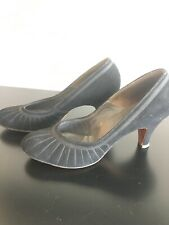 Vintage Red Cross Womens Shoes Pumps black (approx Size 6)
