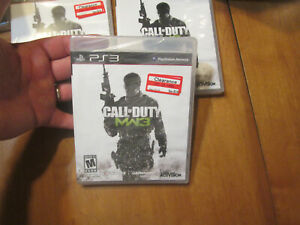 Call of Duty: Modern Warfare 3 PS3 SONY NEW FACTORY SEALED MW3 US EDITION READ