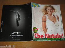 TV SORRISI E CANZONI=2005/52=MICHELLE HUNZIKER=COVER COPERTINA=