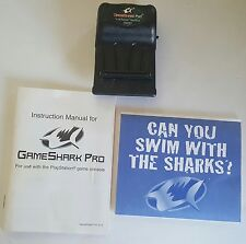 Game Shark Pro Version 3.0 For PlayStation 1 PS1 PS one Cartridge & Manual