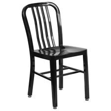 Metal Dining Chair - Black