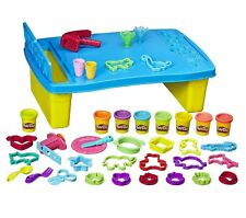 Playdoh Store Table Ages 3+ New Toy Boys Girls Hasbro Play Doh Build Plate Spoon